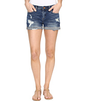 Blank NYC - Cuffed Distressed Shorts in Dress Down Party