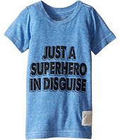 The Original Retro Brand Kids - Superhero In Disguise Short Sleeve Tri-Blend Tee (Toddler)