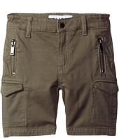 DL1961 Kids - Finn Shorts with Cargo Pockets in Patrol (Toddler/Little Kids/Big Kids)
