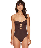 Mara Hoffman - Solid Lattice Underwire One-Piece