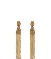 Oscar de la Renta - Long Beaded Tassel C Earrings