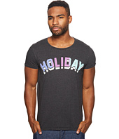 Scotch & Soda - Tee in Cotton/Polyester Quality with Colorful Text Artwork