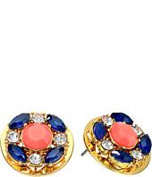 Kate Spade New York - Jeweled Tile Studs Earrings