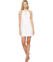 Jessica Simpson - Textured Dress with Neck Embellishment