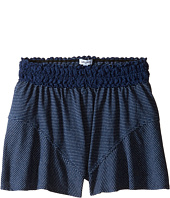 Splendid Littles - Indigo Lace Waistband Shorts (Big Kids)