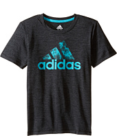 adidas Kids - Print Logo Tee (Toddler/Little Kids)