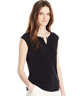 Calvin Klein - Sleeveless Top with Pearl Detail