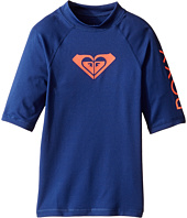 Roxy Kids - Whole Hearted Short Sleeve Rashguard (Big Kids)