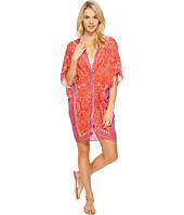 Echo Design - La Playa Paisley Twist Tunic Cover-Up