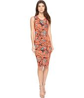 Nicole Miller - Floral Nouveau Jersey Dress