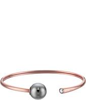 Michael Kors - Pearl Tone Crystal and Grey Pearl Flex Bracelet