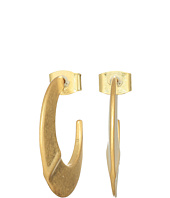 LAUREN Ralph Lauren - Hoop Wire Click Top Earrings