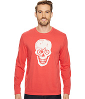 Life is Good - Bike Skull Long Sleeve Crusher Tee