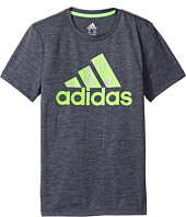 adidas Kids - Print Logo Tee (Big Kids)