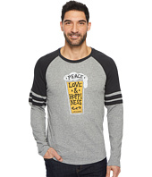 Life is Good - Peace Love Hoppy Vintage Sport Long Sleeve