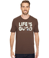Life is Good - Life is Good® Campground Smooth Tee