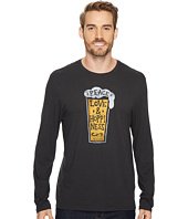 Life is Good - Peace Love Hoppiness Long Sleeve Smooth Tee