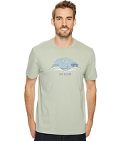 Life is Good - Off Road Beach Vista Crusher Tee