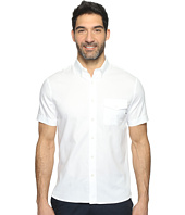 Perry Ellis - Solid Textured Oxford Single Pocket Shirt