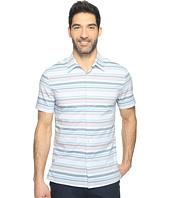 Perry Ellis - Multi Horizontal Stripe Shirt