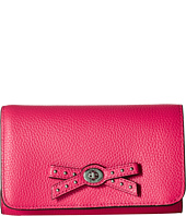 COACH - Bow Turnlock Tie Medium Wallet