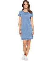 U.S. POLO ASSN. - Short Sleeve Argyle Pindot Sweatshirt Dress