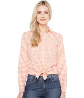U.S. POLO ASSN. - Long Sleeve Gingham Woven Shirt