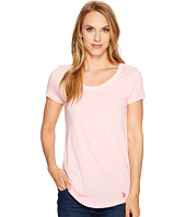 U.S. POLO ASSN. - Soft Heather Scoop Neck T-Shirt