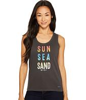 Life is Good - Sun Sea Sand Sleeveless Crusher Scoop