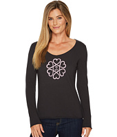 Life is Good - Infinity Hearts Long Sleeve Smooth Tee