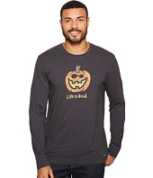 Life is Good - Jack O Lantern Long Sleeve Crusher Tee