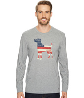 Life is Good - Dog Flag Long Sleeve Crusher Tee