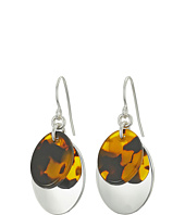 LAUREN Ralph Lauren - Double Oval Metal Drop Earrings