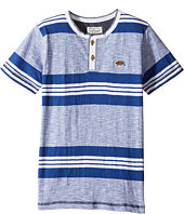 Lucky Brand Kids - Short Sleeve Jetty Henley in Slub Jersey (Little Kids/Big Kids)