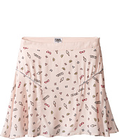Karl Lagerfeld Kids - Viscose Skirt w/ All Over Ice Cream Print (Little Kids)