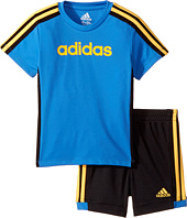 adidas Kids - Hat Trick Shorts Set (Infant)