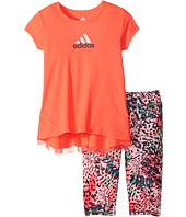 adidas Kids - Printed Capris Set (Infant)
