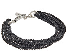 8 Strand Spinel Bracelet w/ Mini Toggle Clasp