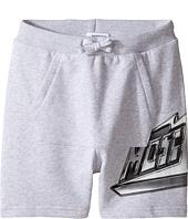 Moschino Kids - Sweatshorts w/ Front Pocket & Logo Detail (Little Kids/Big Kids)