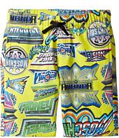 Moschino Kids - All Over Logo Print Shorts (Little Kids/Big Kids)
