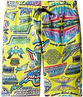 Moschino Kids - All Over Logo Print Shorts (Big Kids)
