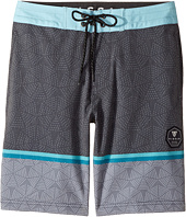 VISSLA Kids - Krakatoa Four-Way Stretch Boardshorts 17
