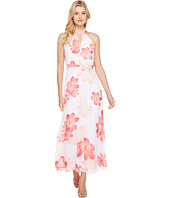 Calvin Klein - Halter Neck Chiffon Maxi Dress
