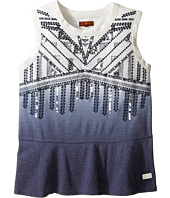 7 For All Mankind Kids - Short Sleeve Embellished Tee (Big Kids)