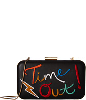Alice + Olivia - Shirley Embroidered Large Clutch