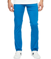 Lacoste - Cotton Twill Stretch Five-Pocket Slim Fit Trousers