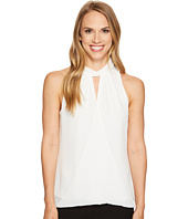Calvin Klein - Sleeveless Wrap Halter Top