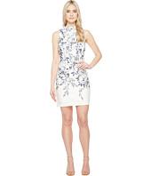 Ivanka Trump - Printed Floral Scuba Dress