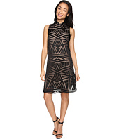 Vince Camuto - Roll Collar Float w/ Fitted Under Dress