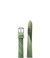 Michele - 16mm Spring Lizard Strap Green